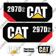 Caterpillar 297D2 Decal Kit Equipment Decals 297 D2