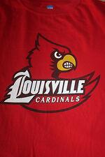 Louisville Cardinals Men's Red T Shirt Size Large NCAA by Kia Inc Atlantic Coast