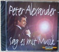 Peter Alexander - Sag es mit Musik - CD neu & OVP