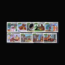 Grenada Grenadines, Sc #450-58, Mnh, 1981, Disney, Christmas, 11Xthicx