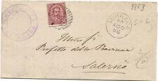 P7134   Salerno, Torraca, annullo numerale a sbarre 1886