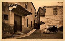 Auto Automobil Car ~1920 TOLEDO Sinagoya y  Musco Greco Espana Spain Tarjeta P.