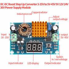 DC-DC Boost Step Up Converter 3-35V 5V-45V 9V 12V 24V 36V Power Supply Module A1
