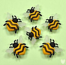 Dress It Up Bottoni Bee Happy 9382-Bumble api mellifere insetti giardino