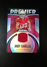 Andy Isabella. . Lot Of 2 Game-Worn Jersey Cards. . Arizona Cardinals. . Rc