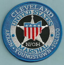 UNITED STATES MARSHAL CLEVELAND OHIO POLICE PATCH