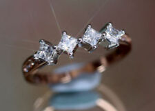 Lab-Created Princess Eternity Fine Diamond Rings