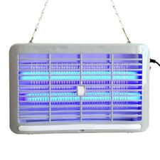 Electric Shock LED Light Mosquito Killer Insect Fly-Bug Zapper Trap Catcher Lamp