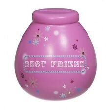 Pot Of Dreams Kids Best Friend Money Pot Box Pink Piggy Bank Girls Saving Gift