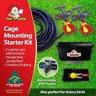 Dine a Chook Cage Mounting Kit #3 - Two Cup, Gravity Or Mains Chicken Drinker