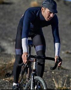Mens cycling jersey Jacket Arlette navy / cafe du cycliste