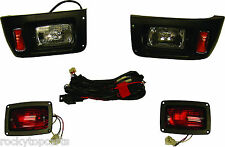 Club Car Golf Cart Recessed Headlight and Taillight Kit Fits DS 1993-Up Models