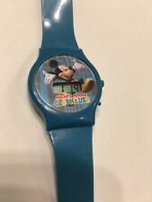 Disney Mickey Mouse Clubhouse Watch New Battery Plastic Blue