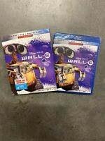 WALL-E (Blu-ray, DVD, Digital Code, 2019 Disney Pixar) with slip cover Brand New