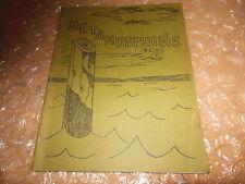 ORIGINAL 1969-1970 DEL MAR SCHOOL YEARBOOK/ANNUAL/TIBURON, CALIFORNIA