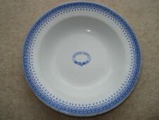 C1900 VINTAGE BROWNS DAIRY BOOTHS CHINA MADE PLATE