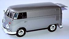 VW Volkswagen T1 Typ 2 Trasportatore 1950-67 DELIVERY VAN grigio metallo 1:24