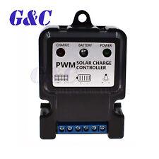 Panel Solar Cargador Batería Li-Ion Controlador Regulador de tipo PWM (Opcional)