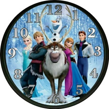 Frozen Clock Nursery Decor Kids Bedroom Decor Playroom Daycare