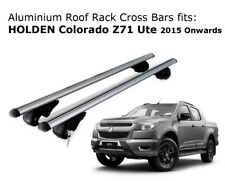 Aluminium Roof Rack Cross Bars fits HOLDEN COLORADO Z71 with rails 2015 Onwards