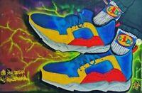 LIDL scarpe sneackers size EU 42 UK 8 EDIZIONE LIMITATA fan uomo donna etichetta