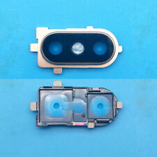 Back Rear Main Camera Glass Lens with Frame Repair Parts For Xiaomi 8 Mi 8 Gold