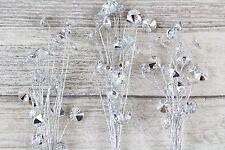 Acrylic Crystal Rondelle Spray 63 Diamante Heads Craft Weddings Bouquet