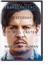 NEW DVD - TRANSCENDENCE - Johnny Depp, Paul Bettany, Rebecca Hall, Morgan Freema