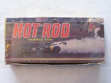 1960s Dunross Hot Rod Bubble Gum Cards Box