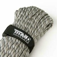 Titan WarriorCord,103 FEET,620 LB.100% Nylon Military Parachute Cord,Urban Camo