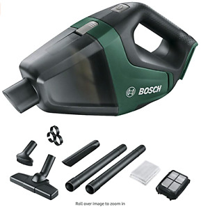 Bosch UniversalVac 18 cordless vacuum cleaner with 2.5 Ah battery & charger