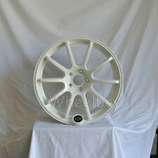4 ROTA WHEEL G FORCE 18X9  5X108 35 73 WHITE FORD FIESTA FOCUS