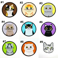 Kitty Cat Breeds Kitten Cute Animal Pet DIY Clothing Jeans Jacket Iron on patch