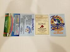 Kansas City Royals 1986 MLB Baseball Pocket Schedule - Adam's Mark