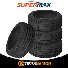 (4) New Supermax TM-1 205/55R16 91T High Performance All Season Tires