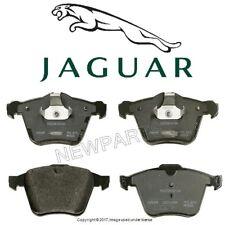 For Jaguar XF XK XKR Super V8 S-Type R Vanden Plas Front Brake Pad Set Genuine