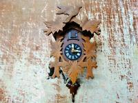 Vintage German Cuckoo Clock Made in West Germany Regula Movement