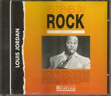 MUSIQUE CD LES GENIES DU ROCK EDITIONS ATLAS - LOUIS JORDAN JUMP BLUES N°46