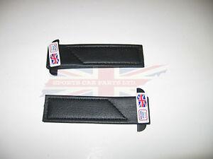 New Pair of Black Door Check Straps for MG Midget Austin Healey Sprite Bugeye