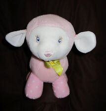 Amscan Baby LILLYBELLE The Lamb Pink First baby animal Rattle Lovey