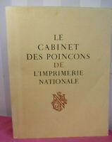 Cabinet des poinçons de l'Imprimerie Nationale
