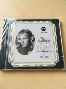 BING CROSBY-THE CHRONOLOGICAL 1944-1945 (VOL 38)-NEW- CD ALBUM-Ref 2036