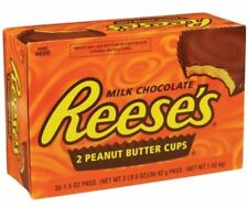 36 PACK Reese's Peanut Butter Cups 1.5 Oz Chocolate Candy FRESH Reese Bulk