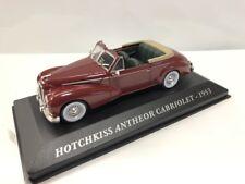 Hotchkiss Anthéor Cabriolet 1953 los Coches de Antaño 1/43 Nuevo Caja Plexi