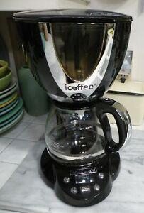 REMINGTON icoffee Steambrew Black Coffee Maker Model RCB100-BC12 CLEAN!