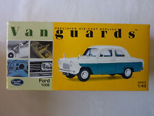 Corgi Vanguards Ford 100E Limited Edition Ivory/Hereford Green - New unopened.