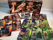 Star Wars FIGURES VEHICLES LOT! New ANAKIN SEBULBA POD RACER  SW EP1 POTF! POTJ!