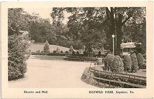 Skooter & Mall Idlewild Park Ligonier PA RP Postcard