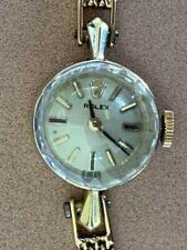 1970's Vintage 14ct Gold Ladies Rolex Cocktail Watch