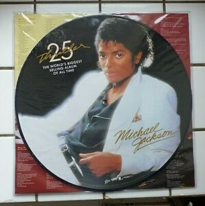 Michael Jackson Thriller Lp 25th Anniversary Edition limited picture disc Neuf !